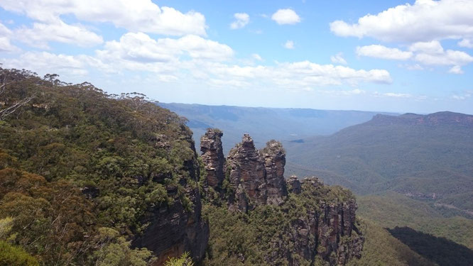 Three Sisters Echo Point Blue Mountains