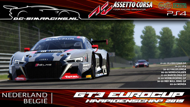 gt3 assetto corsa league