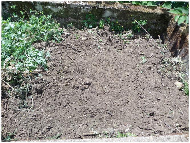 So sieht ein aufgeräumter Komposthaufen aus :D ...