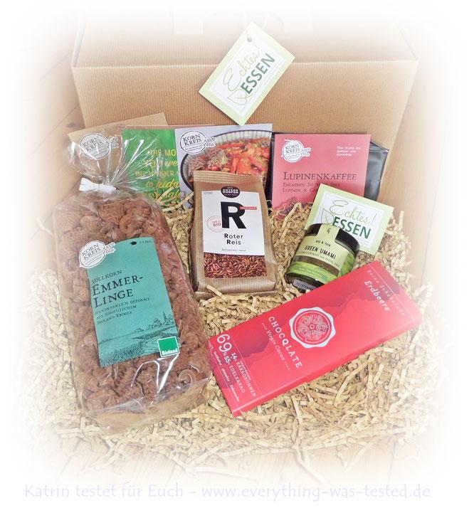 Gourmetbox - veganes Bio Geschenk Set