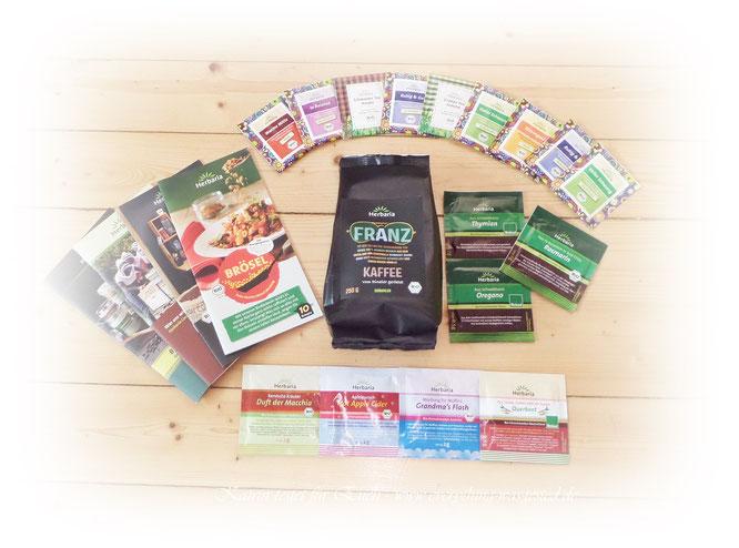 Kleine Auswahl aus der Produktpalette von Herbaria