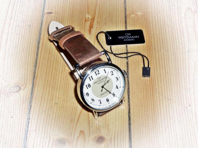 OW Weitzmann Augsburg Armbanduhr