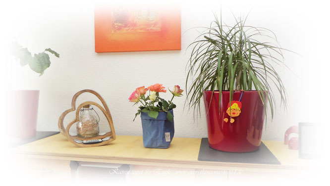 Dekorativ für Blumesträusse