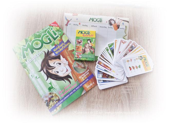 MOGLI Magazin, Stundenplan und Quartett