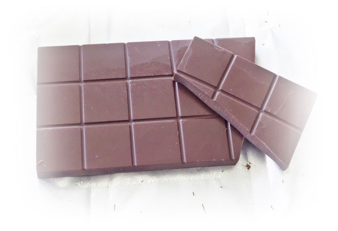Bio-Bitterschokolade mit 72 Prozent Kakaoanteil