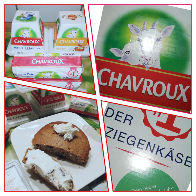 Chavroux Ziegenkäse - mild, cremig und lecker