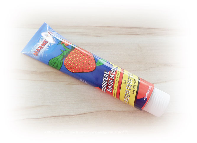 Das ist nicht meine neue Zahnpasta :) - nein das ist Marmetube !
