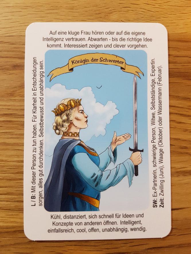 Königin Der Schwerter Das Tagesorakel