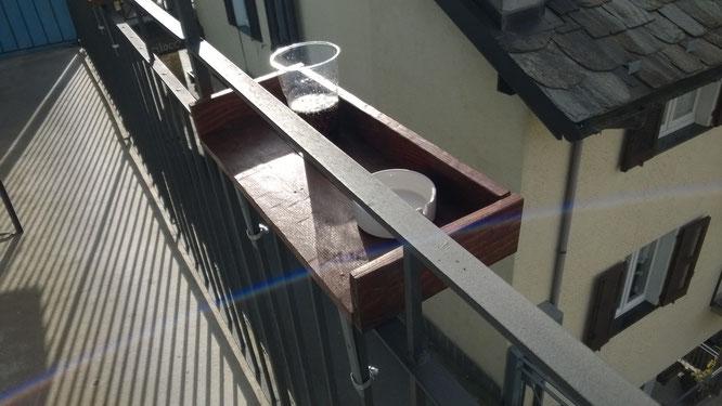 Mensole per esterno - realizzato con assi di bancale riadattate