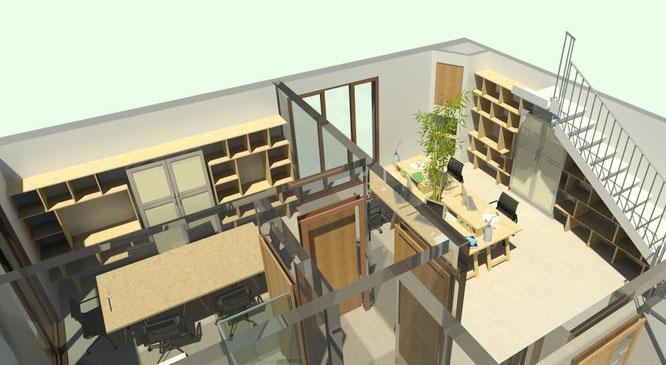 Arredamento uffico - progetto