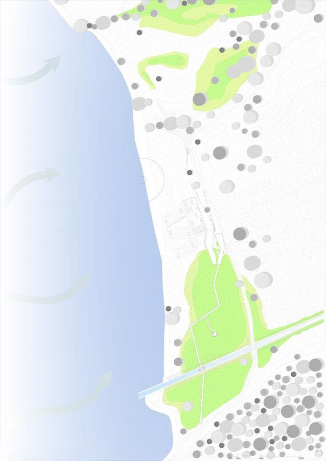 """Planimetria 1:500 area """"Erbiola"""""""