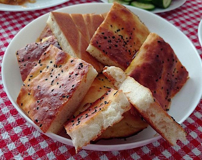 Türkisches Fladenbrot (Cörek) ohne Kneten