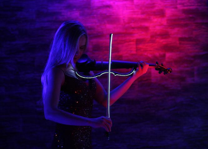 Jessica Violinist Dügün türkische Geige Violine electric violin event nrw