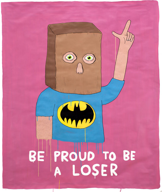 Laurina Paperina : BE PROUD TO BE A LOSER