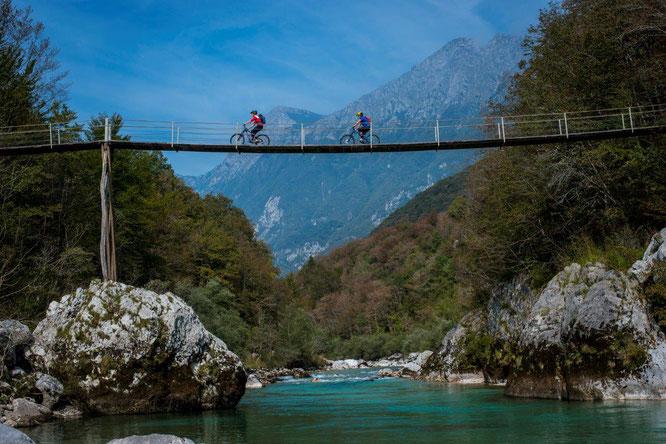 Über 2.200 Kilometer alpines Gelände: Slowenien ist ein Mekka für Mountainbiker // © www.slovenia.info/ Andrew Lloyd