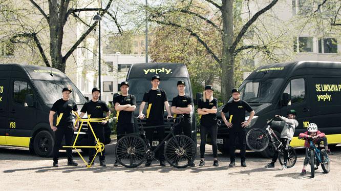Yeply expandiert und bietet mit bald 10 Vans noch mehr Flexibilität im Service