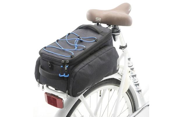 New Looxs ergänzt Sports-Linie um erweiterbare Gepäckträgertasche