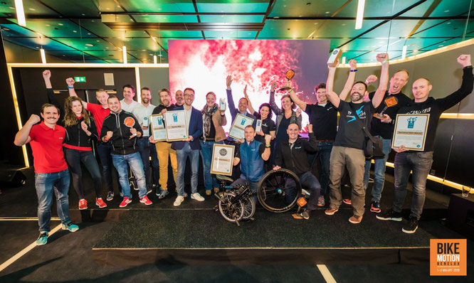 Gewinner der Bike Motion Awards 2019 / Foto: SIGMA SPORT