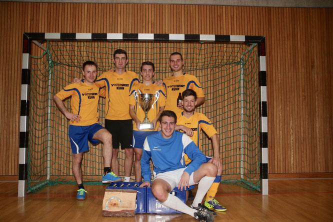 Das Sieger-Team aus Offenburg spielte in der Besetzung:  Florian Basler (Tor), Felix Huschle, Yannick Brischle, Marco Fey, Markus Sieber und Christian Götze.