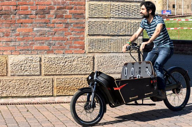 Lastenräder im Aufwind: Rund 30 Marken zeigt die diesjährige Spezialradmesse in Germersheim. ©Spezialradmesse