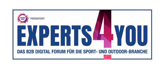 Experts4You Forum - ein neuartiges, digitales Eventformat für die Sport- und Outdoor-Branche von 11. bis 12. Februar 2021