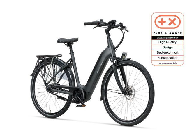 Plus X Award 2020 für das Batavus Finez E-go® Power Exclusive gleich in 4 Kategorien