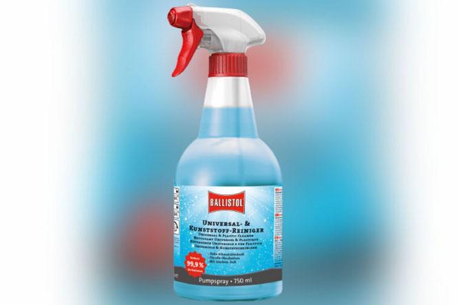 Praktisch für alles: BALLISTOL Universal- & Kunststoff-Reiniger