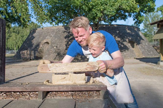 Ziegeleipark Mildenberg  Ziegelstreichen   Copyright: (c) Nada Quenzel