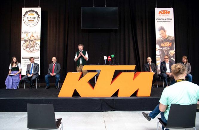 KTM Fahrräder sind eine oberösterreichische Spezialität und weltweit gefragt.