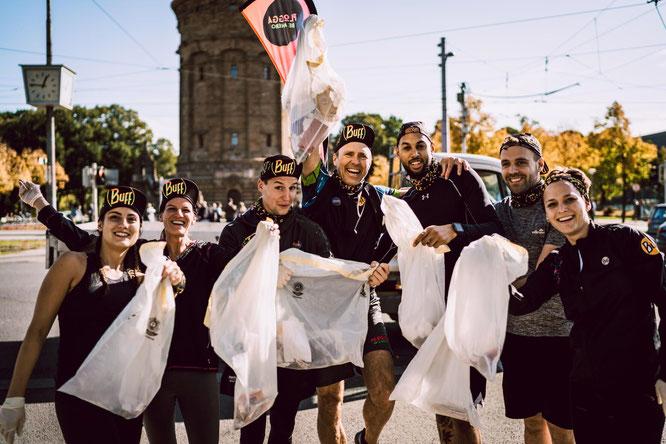 """""""Be a Hero"""" mit BUFF - Der Neck- und Headwear-Spezialist ruft zur Plogging Challenge auf"""