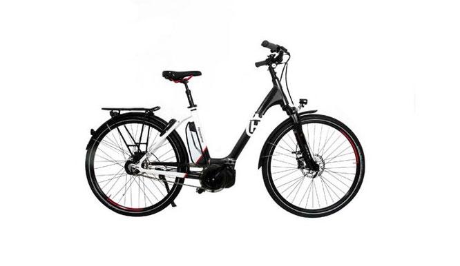 Die Husqvana GC-Citybikes wurden konsequent für die Anforderungen in der Stadt konzipiert.