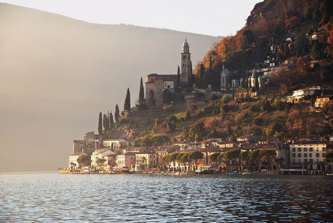 Morcote Copyright Lugano Region - Foto Enrico Boggia