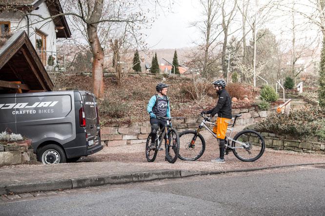 Über eine mobile Testbike-Flotte wird NICOLAI zukünftig Beratung und Probefahrten direkt beim Kunden vor Ort anbieten.
