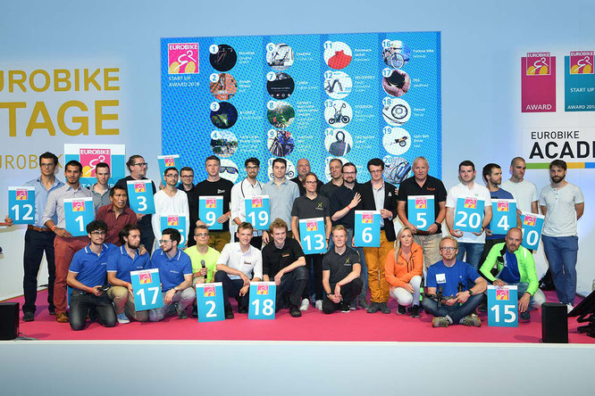 Start-Up Pitch, Start-Up-Unternehmen stellen sich vor / Foto: Eurobike