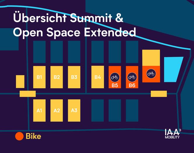 Übersicht Summit und Open Space Extended IAA Mobility
