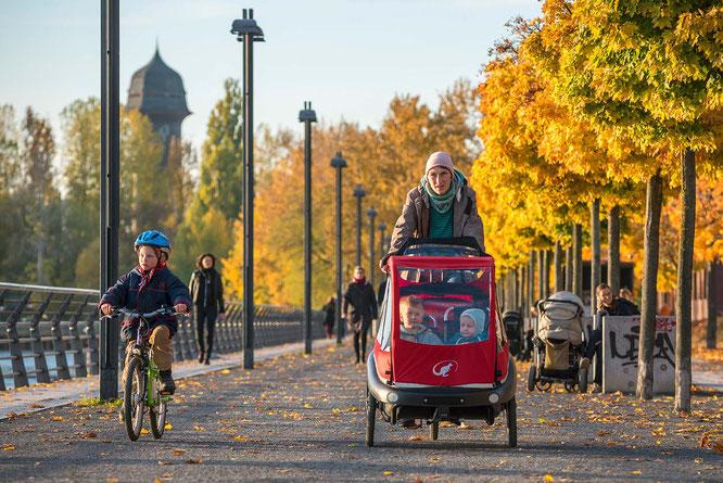 Fahrradfahren in der Stadt / Foto. ADFC