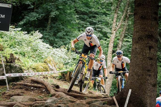 Lexware Mountainbike Team David List ©Lynn Siegel