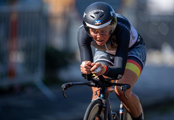 Kerstin Brachtendorf ist zweifache Weltmeisterin im Para Radsport - Bildnachweis Foto: Oliver Kremer / DBS