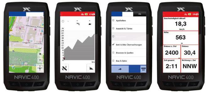Mit dem Navic 400 beginnt bei CICLO eine neue Ära des Bike-Computers