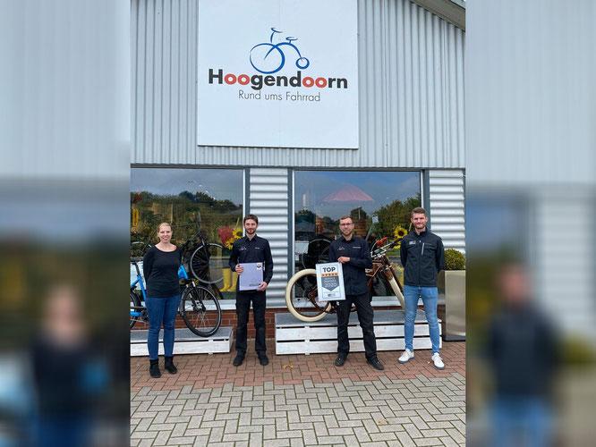 """Mit """"Hoogendoorn – Rund ums Fahrrad"""" ist nun der erste BIKE&CO-Händler zertifiziert."""