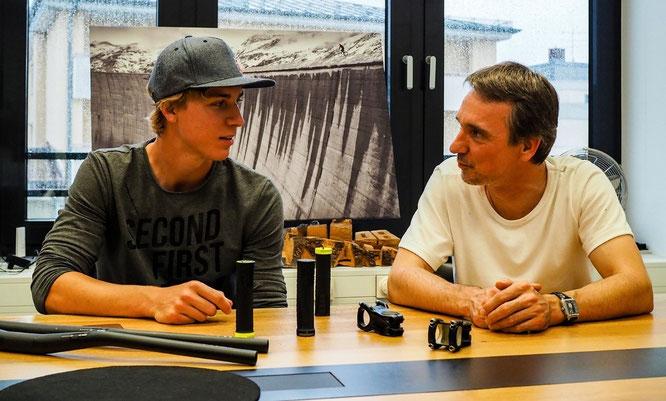 Fabio Wilmer und Tobias Hild, Gründer & Geschäftsführer SQlab GmbH