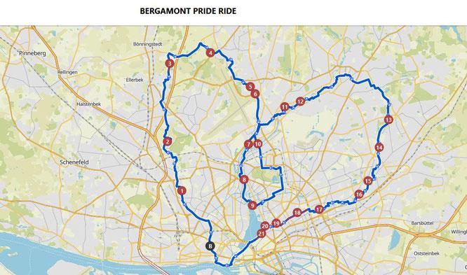 Bergamont Pride Ride ©Komoot