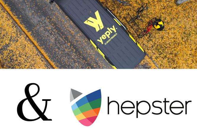 Neues Service-Plus für Yeply-Kunden: Mobile Fahrradwerkstatt und hepster starten Zusammenarbeit