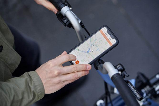Brompton Phone Mount mit Quad Lock Technologie