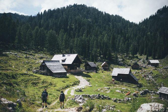 Ein idealer Ausgangspunkt für Wandertouren: Der Nationalpark Triglav // © www.slovenia.info/ Hannes Becker