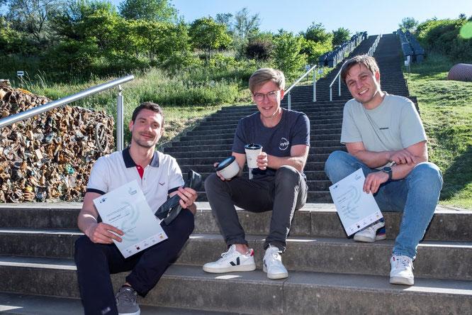 Gewinner Recycling-System für Fahrradschläuche beim 1. GoingCircular-Award - Fotonachweis: Michael Claushallmann