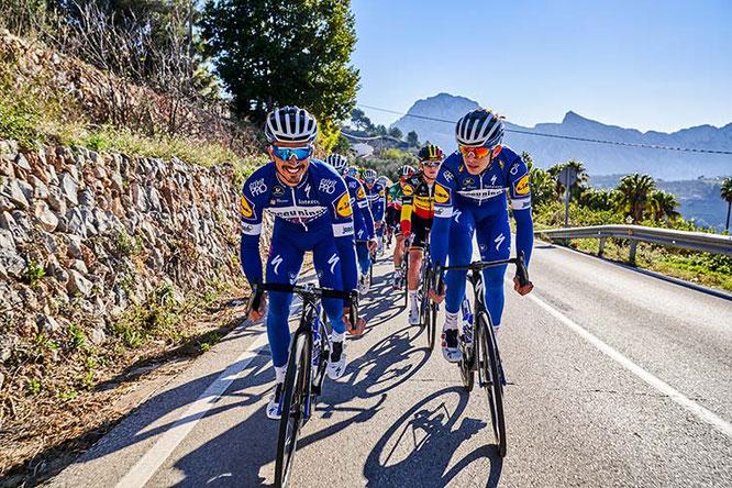 Deceuninck Quickstep Team / Foto: MCG