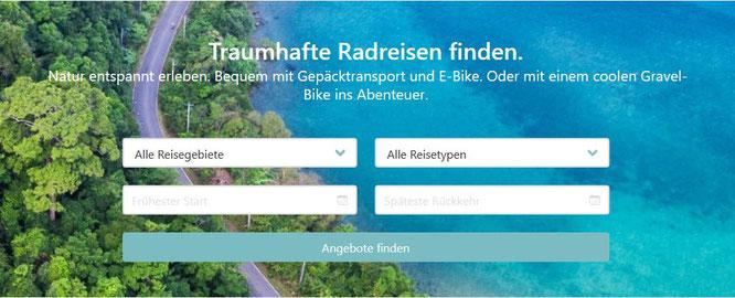 cyclelo ist ein Online-Marktplatz für Radreisen