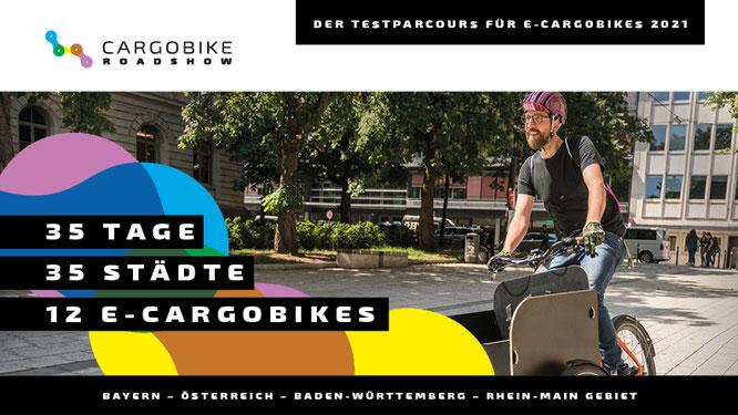 Cargobike Roadshow 2021