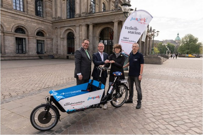 Wertgarantie unterstützt Projekt für freie Lastenräder